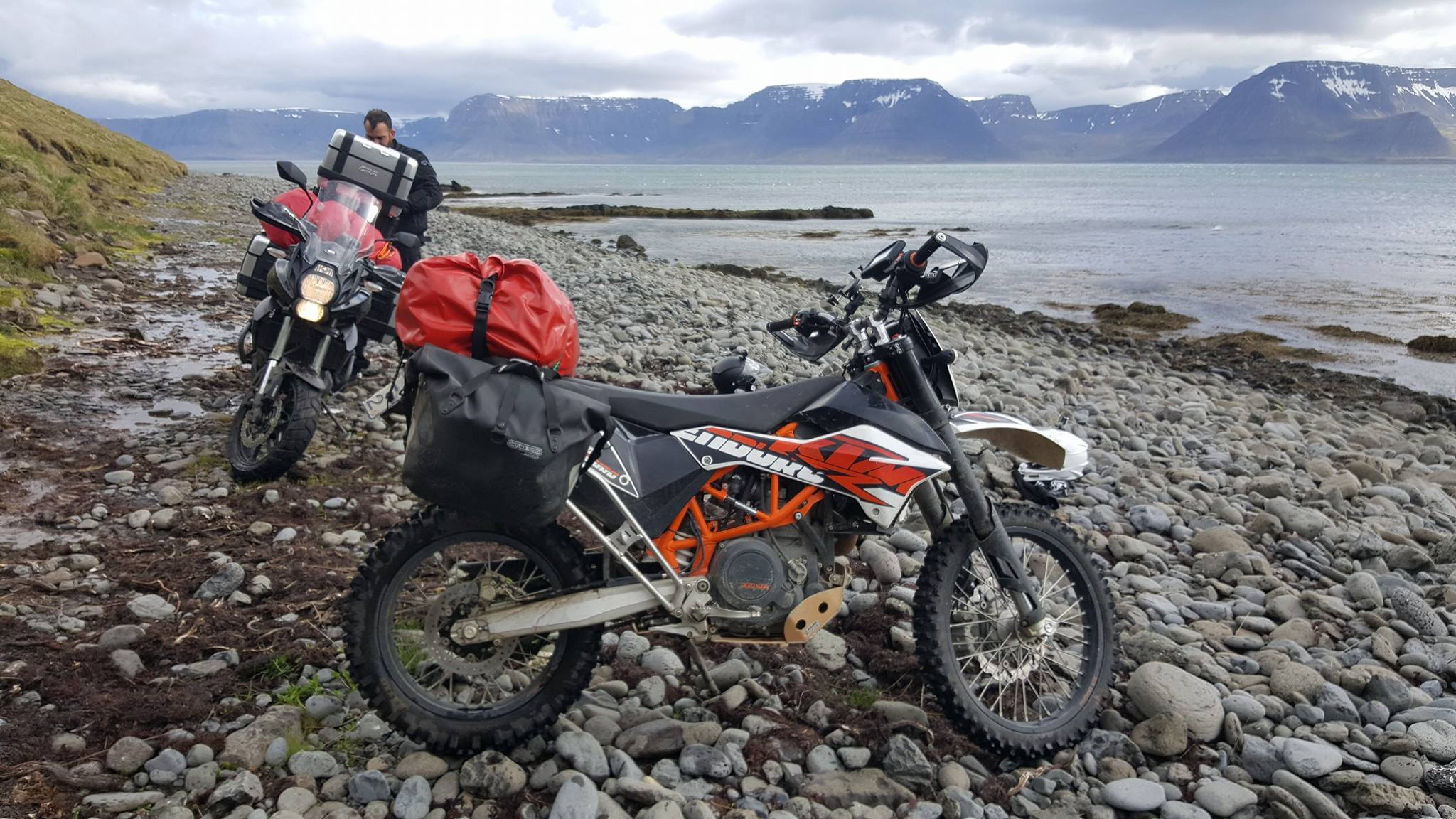 Deep fjords offer incredibly scenic routes to drive.