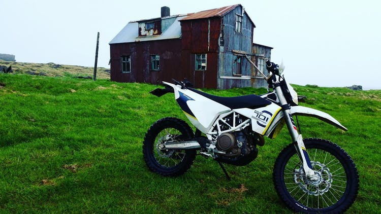 Ready for a night in a haunted house? Riding and having an adventure in Iceland.