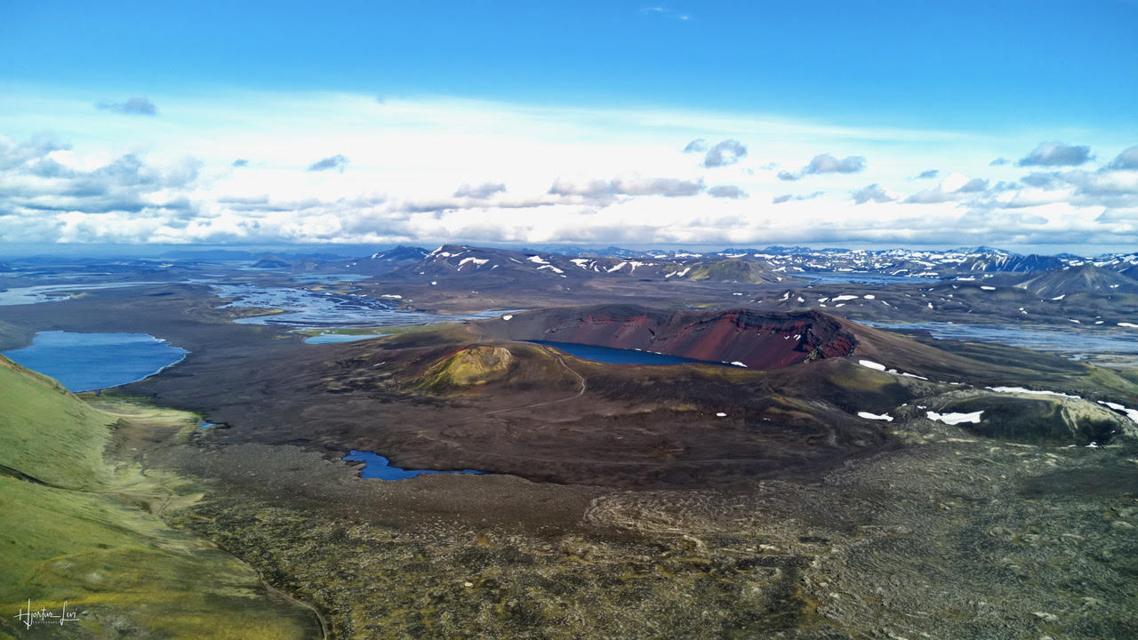 The amazing Icelandic highlands in all their glory.
