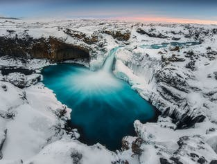 9-Day Winter Photography Workshop | North Iceland