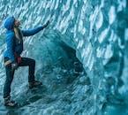 Grotta di ghiaccio blu a Skaftafell ed escursione sul ghiacciaio