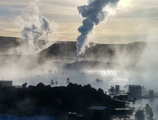 Blue Lagoon Premium and Reykjanes Peninsula | Private day Tour in a new Mercedes Benz