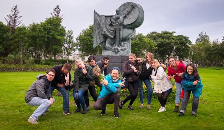Magical 1.5 Hour Folklore Walking Tour of Reykjavik with Tales of Trolls, Elves & Hidden People