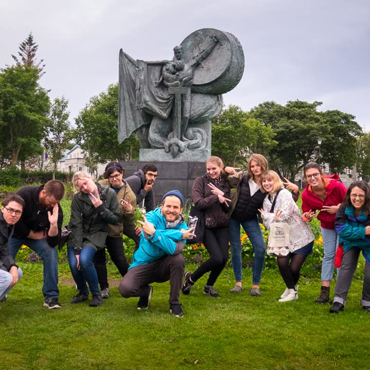 Magical 1.5 Hour Folklore Walking Tour of Reykjavik with Tales of Trolls, Elves & Hidden People