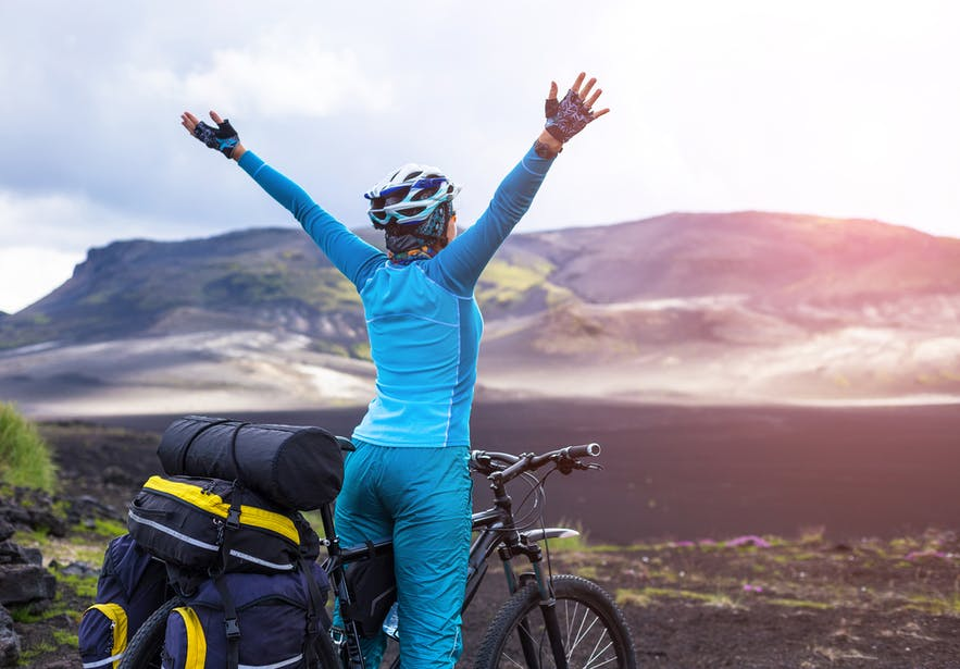 Icelanders are extremely fit and love the great outdoors.