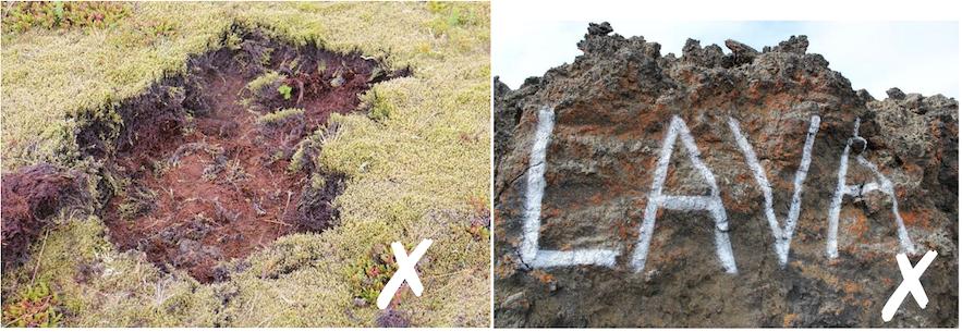 破壞冰島環境的行為