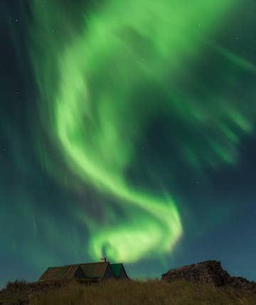 冰島北極光