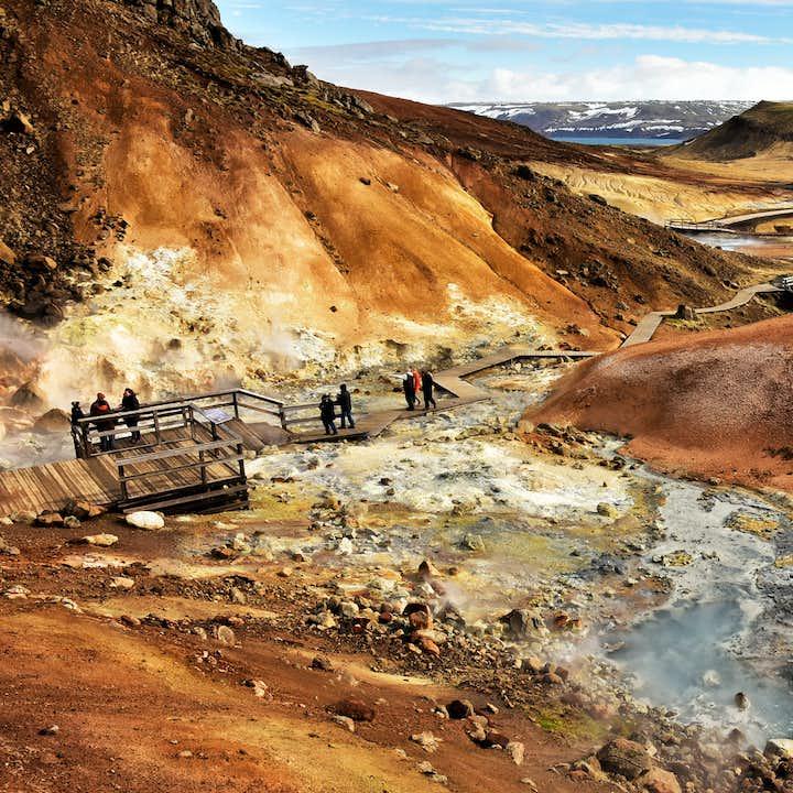 冰岛雷克雅内斯半岛小团一日游  终点可选蓝湖温泉或凯夫拉维克国际机场