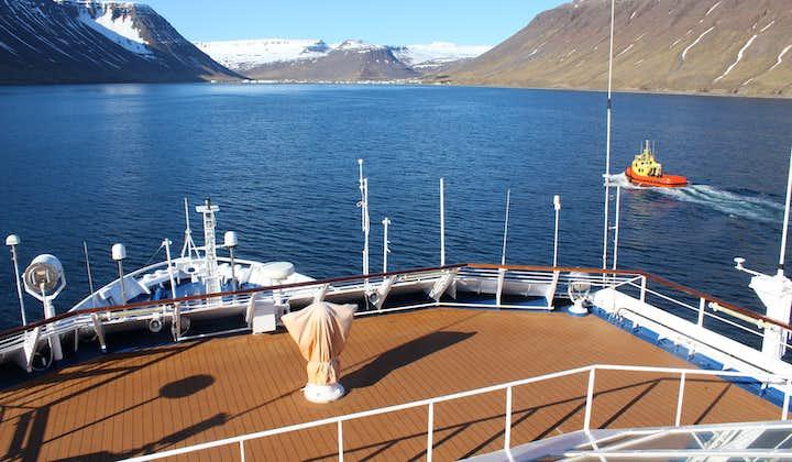 Take a cruise around Iceland.