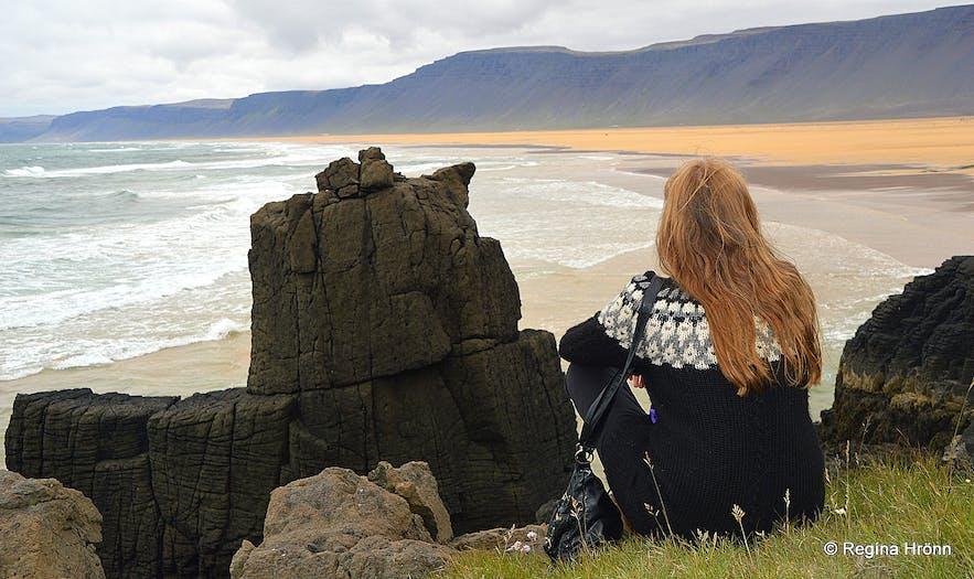 Rauðasandur - Red beach in the Westfjords