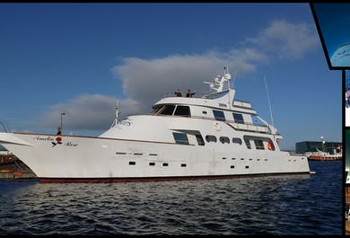 Northern Lights tour on board a luxury yacht