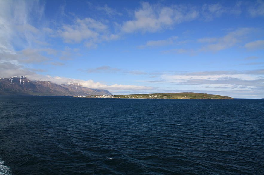 Hrísey in north Iceland is a beautiful island.