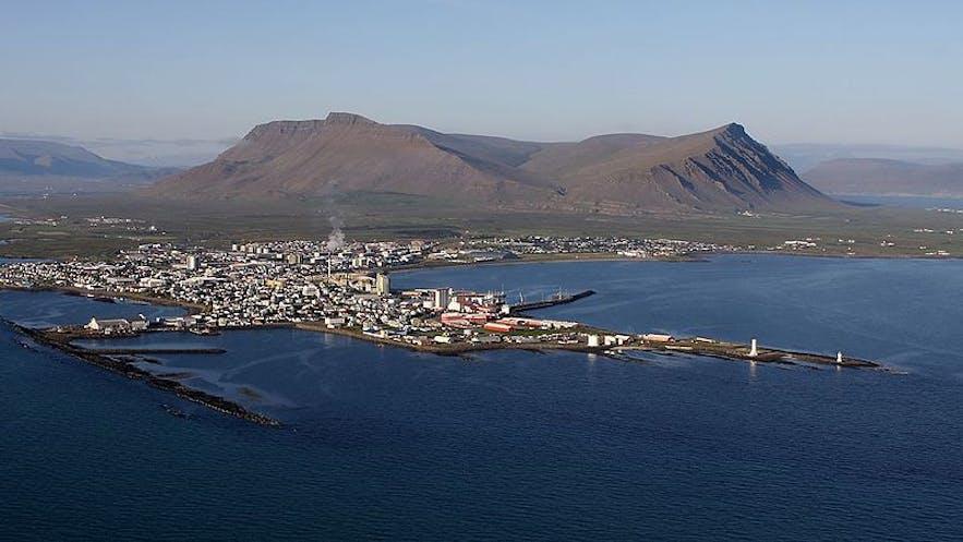 阿克拉内斯是冰岛西部的主要城镇之一