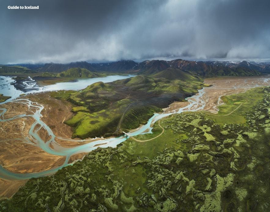 Landmannalaugar sit at the heart of the Southern Icelandic Highlands.