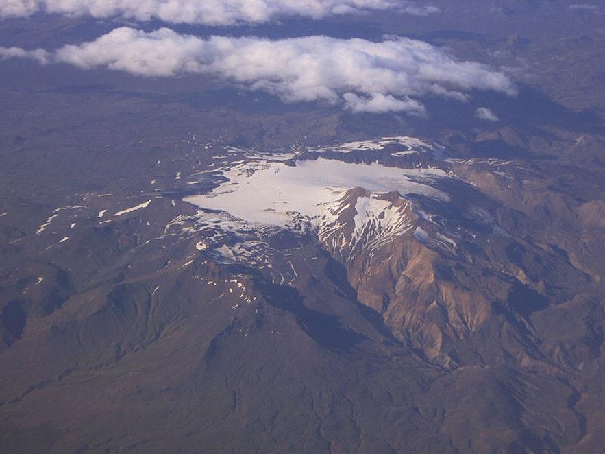 Tindfjallajökull's highest peak is called Ymir.
