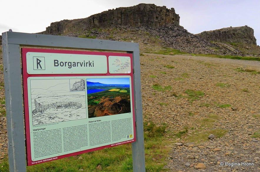 Borgarvirki在历史上曾被用作堡垒