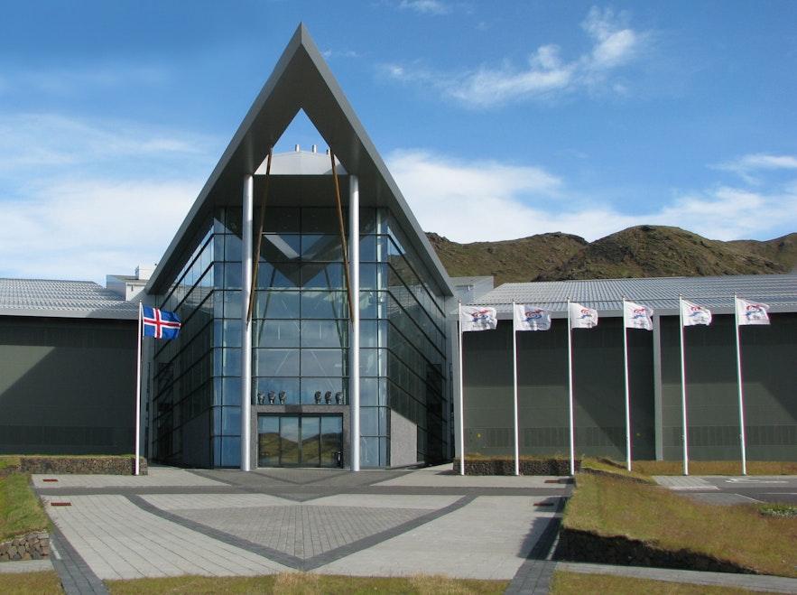 赫利舍迪地热展览馆尽显冰岛西南部活跃的地质活动
