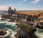 The great coasts of the Snæfellsnes Peninsula sport remarkable rock formations.
