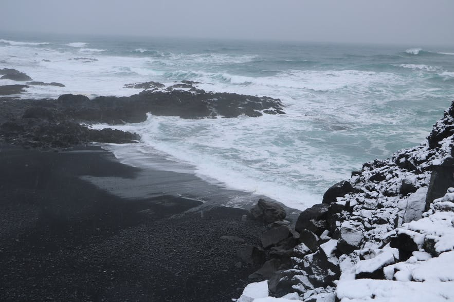 Selatangar is a haunting and allegedly haunted place on the Reykjanes Peninsula.