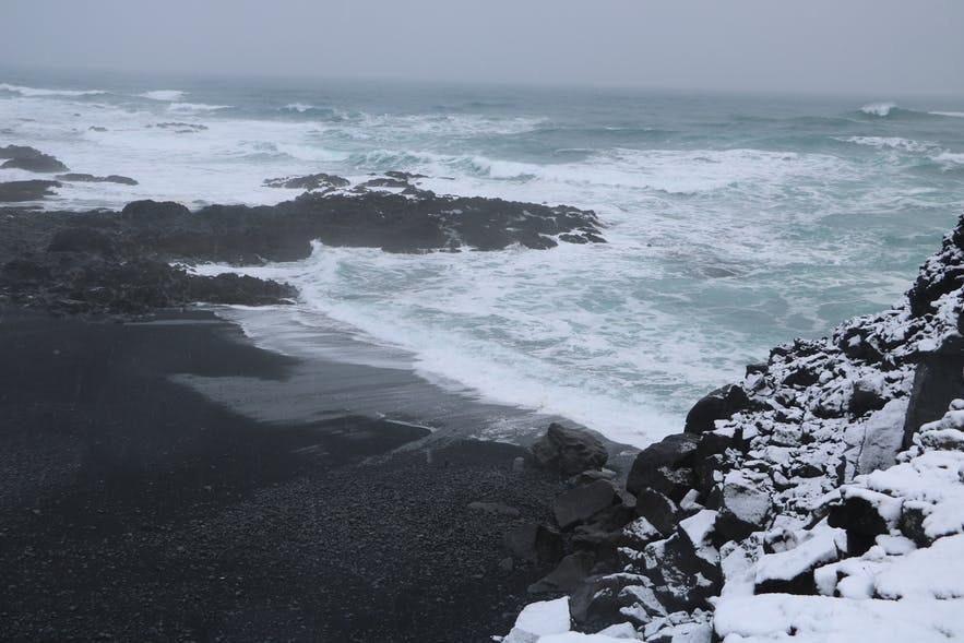 Selatangar是冰岛雷克雅内斯半岛上的捕鱼站遗迹