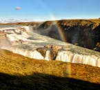 Gullfoss waterwall at Golden Circle and the Secret Lagoon | Small Group Tour