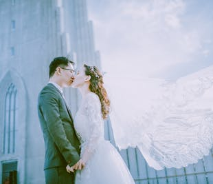 婚礼策划安排服务 来冰岛旅行结婚,举办一场浪漫的教堂婚礼