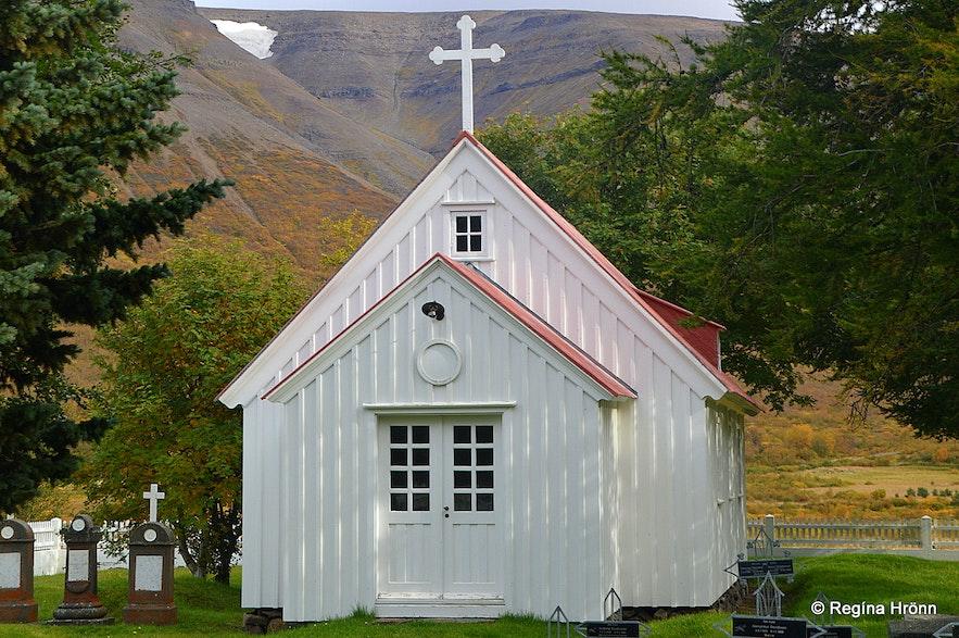 Illugastaðakirkja church