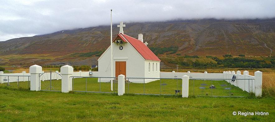 Draflastaðakirkja church in Fnjóskadalur