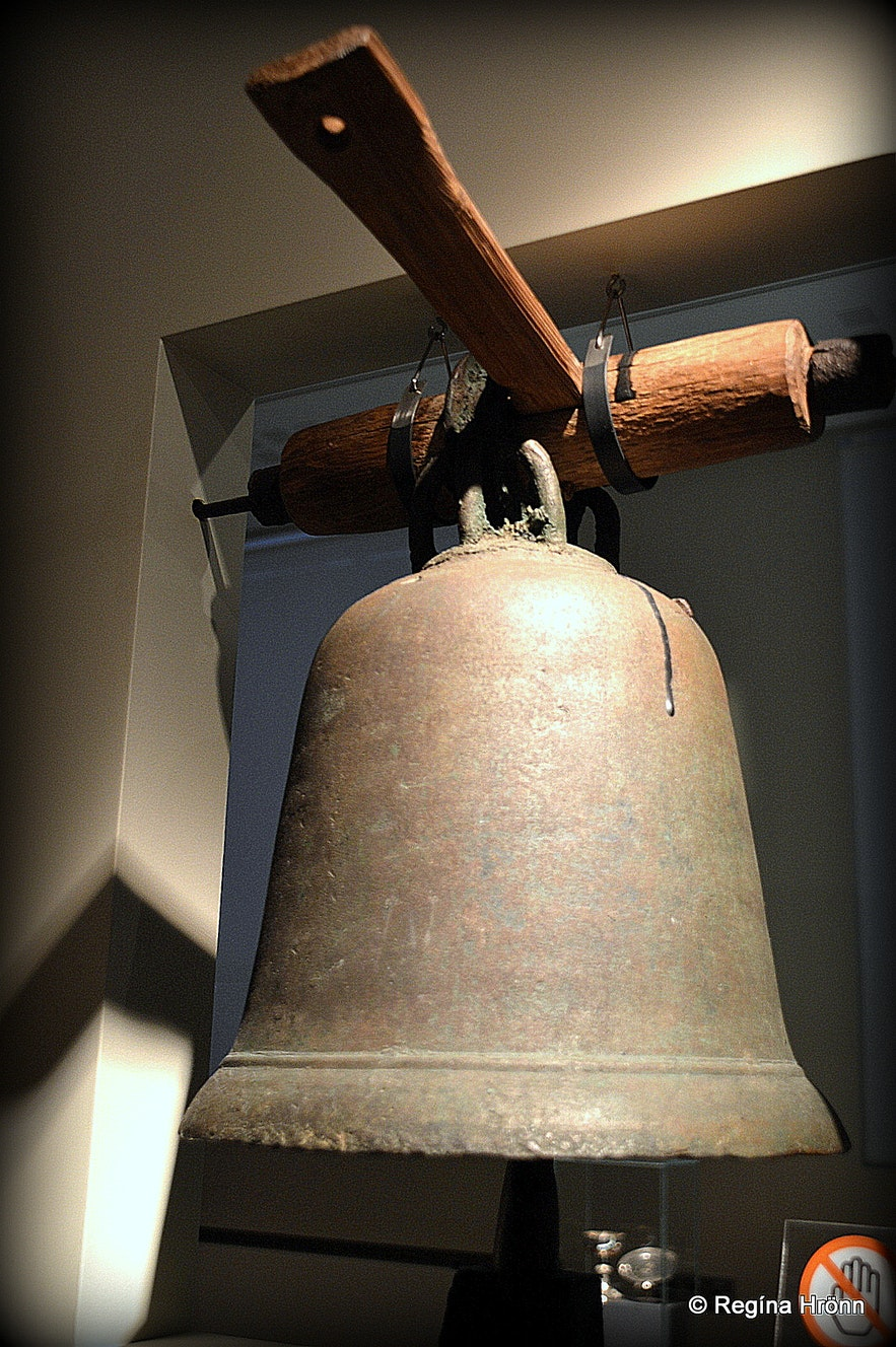 The old church bell from Hálskirkja at Þjóðminjasafnið