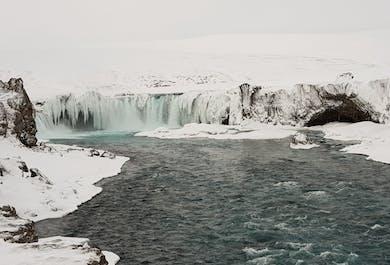 Lake Myvatn Winter Excursion   Departure from Akureyri
