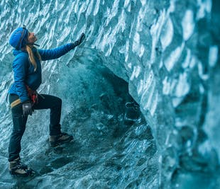 2 Day Blue Ice Cave & South Coast | Glacier Hike, Jokulsarlon & Northern Lights
