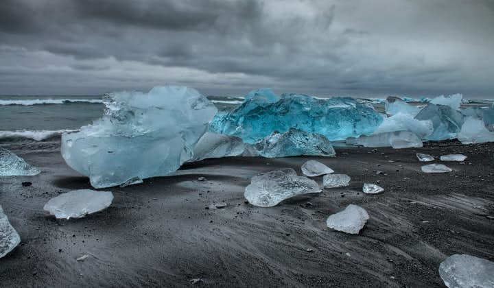 杰古沙龙冰河湖、钻石冰沙滩奢华一日游   私人包团包车