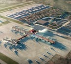 The new airport is expected to rise in the next few years.
