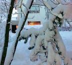 Enjoy a heartening Christmas meal at a home in Hafnarfjörður.