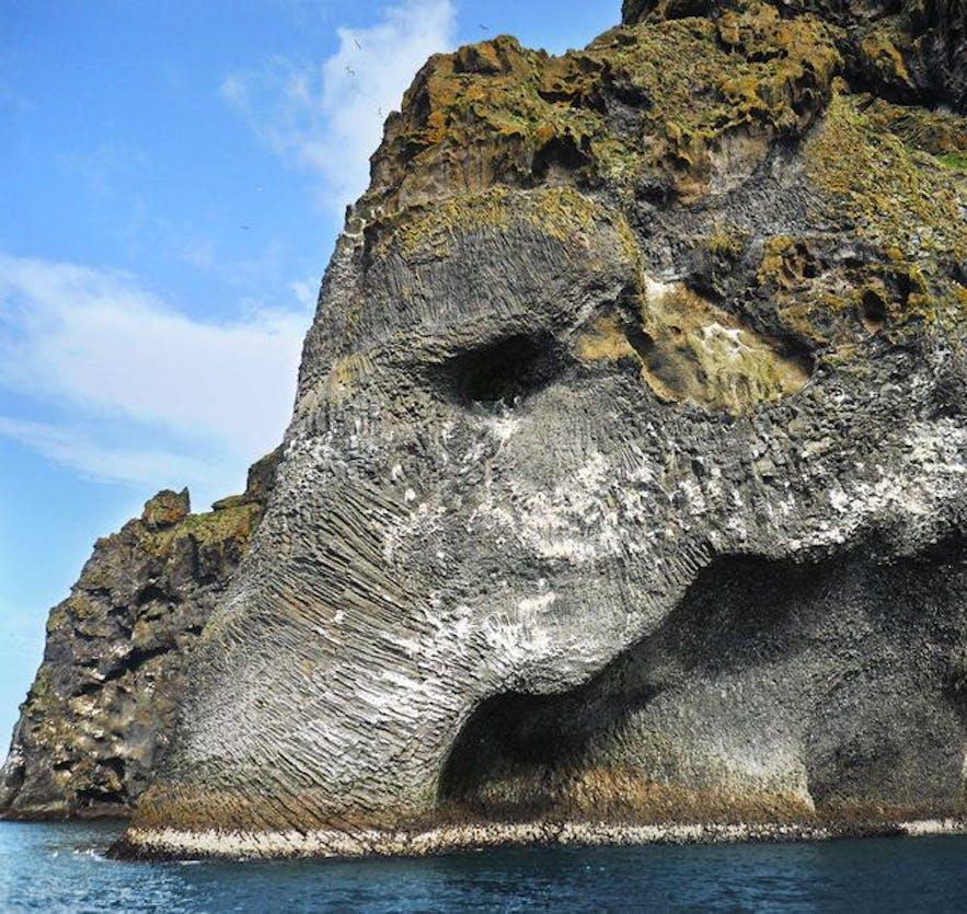 十分真实的大象石