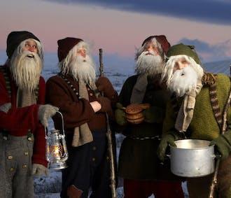 Christmas Walking Tour in Hafnarfjordur