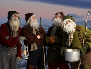 Christmas Walking Tour in Hafnarfjordur