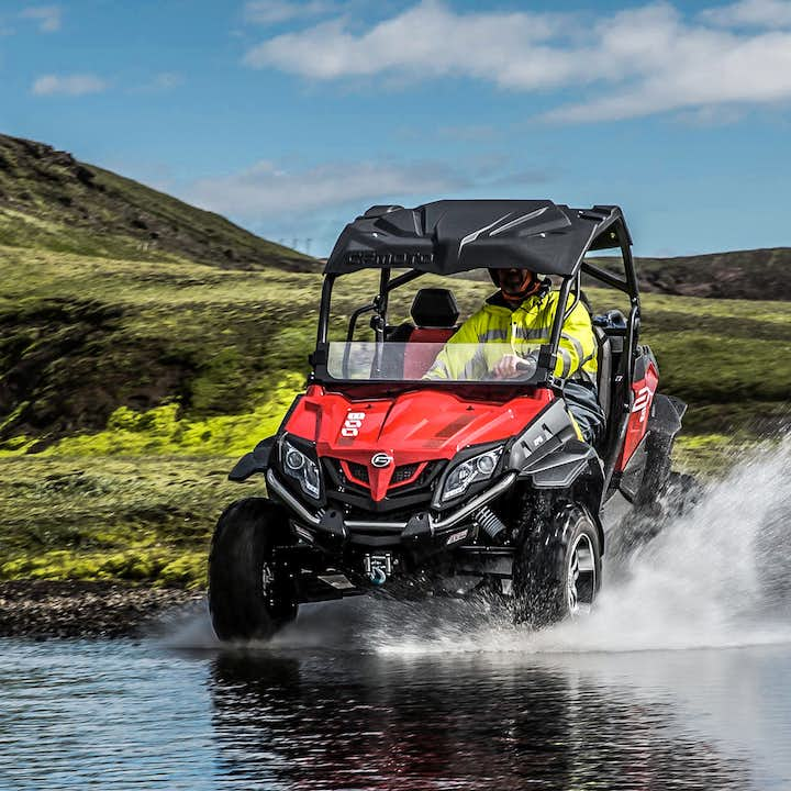 Fun-Filled 7 Hour Combination Tour with ATV Buggy Riding & Snorkeling in Silfra