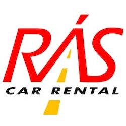Rás Car Rental logo