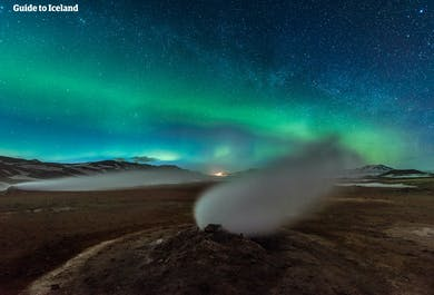 Jezioro Myvatn | Lot z Reykjaviku