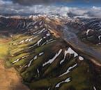 Admirez la vue imprenable sur les hauts plateaux d'Islande.