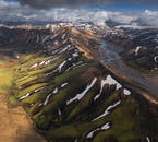 Take in the breathtaking views of Iceland's Highlands.