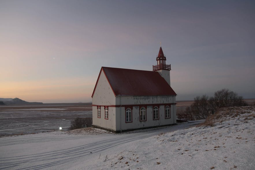 Hlidarendakirkja church