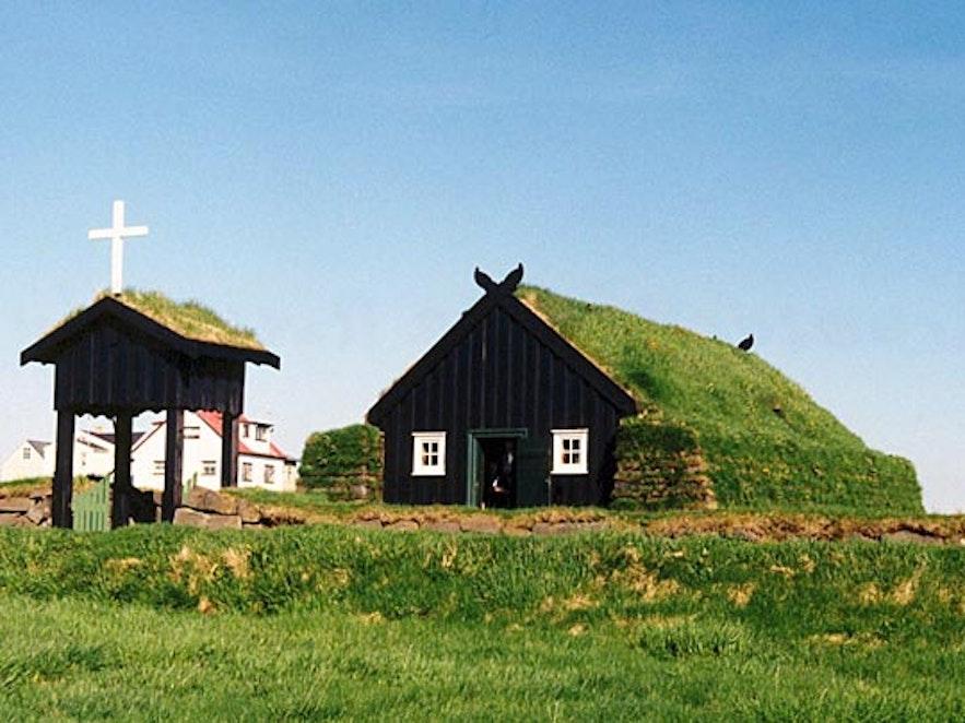 Árbæjarkirkja是冰岛首都雷克雅未克的一座古老教堂