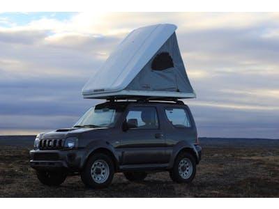Suzuki Jimny + Carpa para el techo 2018