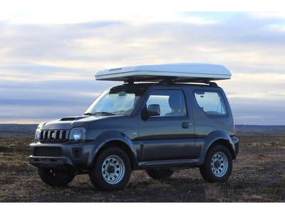 Suzuki Jimny mit Dachzelt 2018