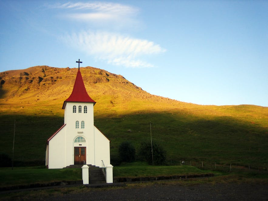 Lutherabn church is the largest in Iceland.