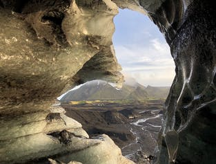 Ice Cave by Katla Volcano | SuperTruck from Vik