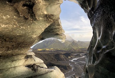Ice Cave by Katla Volcano | Super Jeep from Vik