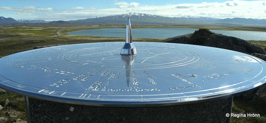 View-dial at Uxahryggir